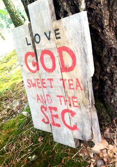 Love the SEC by HarleyandElise on Etsy, $25.00