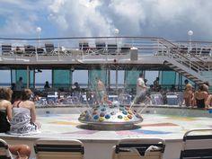 Enchantment Of The Seas - Kids Pool/Splash Area Cruise Ship Pictures, Enchantment Of The Seas, Kid Pool, Royal Caribbean, Holiday Fun, Enchanted, Cruise Ships, Travel, Kids