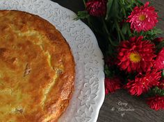 Pastel salado de queso viejo, puerro y bacon – Salty cake with cheese, leek and bacon Queso Cheese, Pie, Desserts, Food, Deserts, Torte, Tailgate Desserts, Cake, Essen