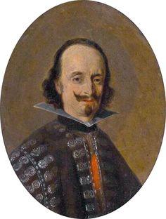Gerard ter Borch - Portret van Don Caspar de Bracamonte y Guzmán