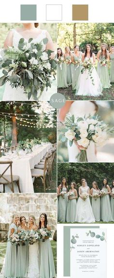 Neutral Wedding Colors, Spring Wedding Colors, Wedding Color Schemes, Wedding Color Palettes, February Wedding Colors, Country Wedding Colors, Emerald Wedding Colors, Unique Wedding Colors, Rustic Wedding Details