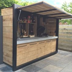 The Best Amazing DIY Outdoor Kitchen Ideas For A Financial Plan Budget Amazing .The best amazing DIY outdoor kitchen ideas for a budget budget amazing ideas kitchen outdoor AMAZING OUTDOOR Outdoor Kitchen Plans, Outdoor Cooking Area, Outdoor Kitchen Countertops, Outdoor Kitchen Design, Patio Design, Kitchen Decor, Beton Design, Small Outdoor Kitchens, Out Door Kitchen Ideas