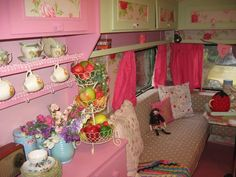 Vintage/Retro Shabby Chic, Cath Kidston Styled Caravan with many accessories Bury St Edmunds Picture 1
