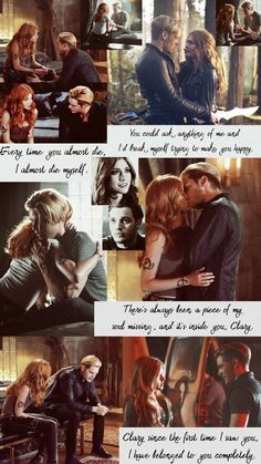 New shadow hunters out today yasssssss😁😁😁😁 Clary Et Jace, Shadowhunters Clary And Jace, Shadowhunters Tv Series, Shadowhunters The Mortal Instruments, Shadow Hunters Book, Hunter Name, Favorite Book Quotes, Clace, City Of Bones