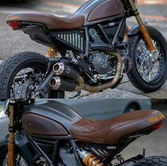 Throwback of my Custom Ducati Scrambler Im really considering to build one again . Dominator Scrambler, Motos Bobber, Ducati Scrambler Custom, Cafe Racer Motorcycle, Custom Motorcycles, Custom Bikes, Ducati Cafe Racer, Cafe Racer Seat, Moto Ducati