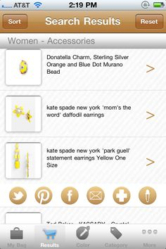 The new way to shop by color - LuxeFinds Color Shopping Engine iPhone App