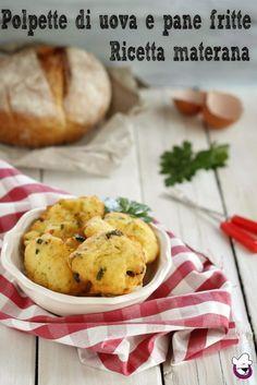 """""""POLPETTE DI UOVA E PANE FRITTE """" Irresistibili !!!!! http://blog.giallozafferano.it/sognandoincucina/polpette-uova-e-pane-fritte/  #foodporn #gialloblog #Matera #cucina"""