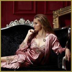 Women Pajama Sets Three Pieces V-Neck Silk Satin Sleepwear Sexy Lace Pijamas Modelos Femininos Plus Big Size XXXL