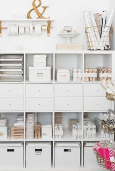 70 Trendy Home Office Organization Inspiration Ikea Bedroom Storage Ideas For Clothes, Bedroom Storage For Small Rooms, Home Office Storage, Craft Room Storage, Home Office Organization, Home Office Space, Cube Storage, Wall Storage, Home Office Design