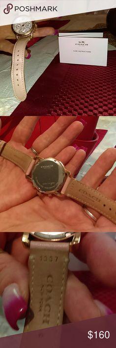 Coach watch Selling my coach watch, Coach Jewelry Bracelets