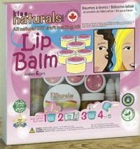 Chance to win a Kiss Naturals #DIY Lip Balm kit!!