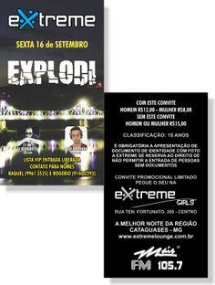 Explodi - Extreme (Convite)