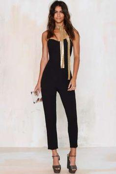 Raquel Cross-Back Jumpsuit | Shop Clothes at Nasty Gal!