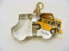 School Bus Cookie Cutter by Ann Clark on Etsy, $3.95