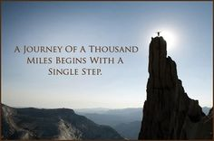 Rome wasn't built in a day, and neither were you. Have patience – you will get there! #journey #start