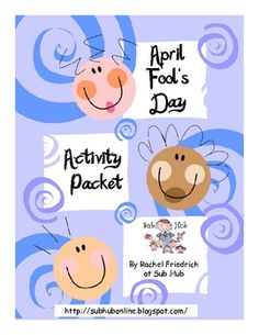 This is a packet of seven different activities for students to do on or around April Fool's Day. There are writing, drawing, and reading activities. Like the KWL chart activity Spring Activities, Free Activities, Holiday Activities, Reading Activities, Therapy Activities, School Holidays, School Fun, School Stuff, School Ideas