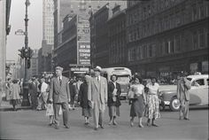6th Avenue And 23rd Street (1950s) -Morris Huberland, photographer