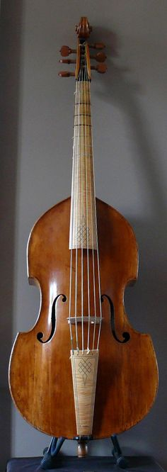 Violone in G, viola da gamba, viol, double bass, violone, Orpheon Foundation, Jose Vazquez