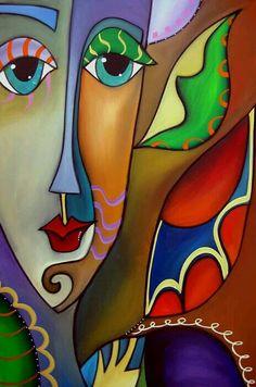 Dekoratif akrilik boya tablo / art