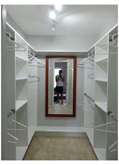 Small Master Closet, Master Closet Design, Walk In Closet Design, Master Bedroom Closet, Small Closets, Closet Designs, Small Walk In Closet Ideas, Diy Walk In Closet, Bedroom Wardrobe
