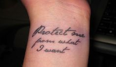 """I like this quote as well but, I want to get a piece of our wedding vows tattooed underneath my """"Forever"""" tattoo. """"I promise to embrace every opportunity life presents to strengthen and expand my love."""""""