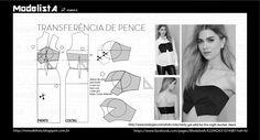 ModelistA: TOP - TRANSFERÊNCIA DE PENCES Pleated Bralet or Crop Top