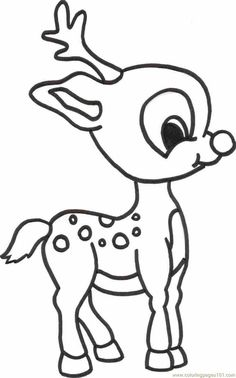 Deer Hunting Coloring Pages To Print Deer fawn colouring pages
