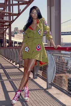 Chanel Iman photographed by Henrique Gendre for S Moda Spain February 2017 Stylist: Almudena Guerra