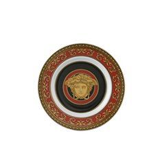 d1617f436f3 Versace by Rosenthal Medusa Red Bread   Butter Plate Review Red Bread