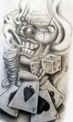 Chicano tattoo flash hourglass - www Art Chicano, Chicano Art Tattoos, Chicano Drawings, Kunst Tattoos, Tattoos Skull, Tattoo Drawings, Chicano Tattoos Gangsters, Chicano Kunst, Tattoo Sketches