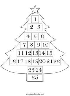 Calendario dellAvvento per bambini