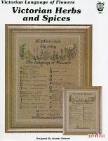 Схемы вышивки: Victorian herbs and Spices