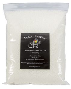 Moldable Plastic that you melt in hot water and then shape however you want it - 5 lb. size