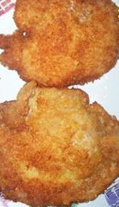 These sound delicious! - Famous Pork Chops - baked with butter cracker crumb coating.