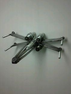 Metal X Wing fighter by Jess Landin 1-1-16