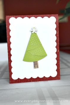 Oh Christmas Tree – by Every Day is an Occasion