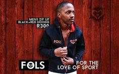 Men's Zip-up Black & Red Hoodies Black And Red Hoodie, 2015 Winter, Zip Ups, Range, Hoodies, Sports, Jackets, Fashion, Hs Sports