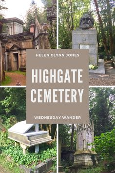 Highgate Cemetery London, Travel Around The World, Around The Worlds, Places To Travel, Places To Visit, London Attractions, Spooky Places, Trip Planning, Great Places
