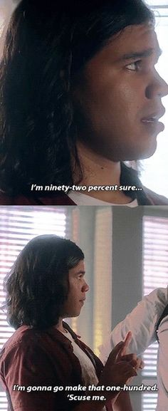 I did not do anything that would cause that. /// CISCO RAMON THE FLASH 2X01