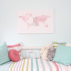 Project Nursery - Wall Art from Uh Oh Pasghettio