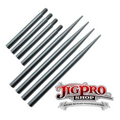 Stitching Needles Lacing 2pack of 3 1//2 Aluminum 550 Paracord Fid Silver