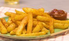 Kohlrabi-Pommes aus dem Ofen sind die Low-Carb-Alternative zu klassischen Pommes. Wie einfach ihr leckere Kohlrabi-Pommes zubereitet, seht ihr im Video.