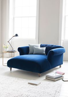 Dixie Love Seat Chaise The dictionary says that a 'dixie' is a great big pot for brewing tea (who knew? Our own Dixie is a deliciously deep love seat for sipping said tea. Home, Home And Living, Furniture, Love Seat, Interior, Lounge, House Interior, Room, Home Furnishings