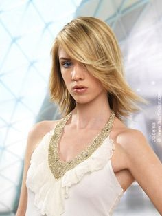 easy shoulder length hairstyle