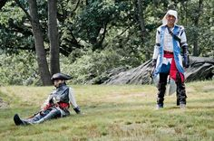 Aveline de Granpre (Nix Nox Cosplay) & Connor Kenway (Nox D Martinez) Assassins Creed Liberation/3 , photo by Ron Gejon Photography.