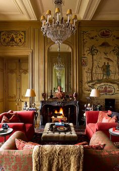 Timothy Corrigan ::  extensive five year renovation and restoration of his extraordinary French chateau in the Loire Valley.