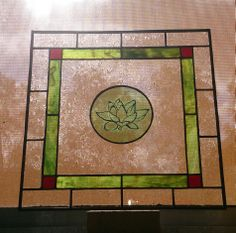 Stained Glass Center Piece
