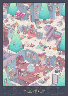 Cristian Robles, Illustrations. Fun illustrations by Barcelona,...
