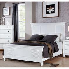 MERIVALE WHITE E.KING BED