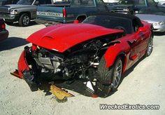 Dodge Viper SRT 10 crashed in Illinois